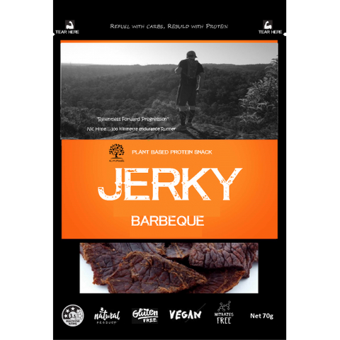 KM FOODS JERKY BARBEQUE