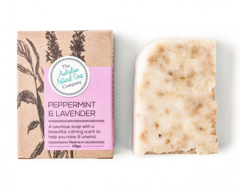 AUSTRALIAN NATURAL SOAP COMPANY PEPPERMINT & LAVENDER