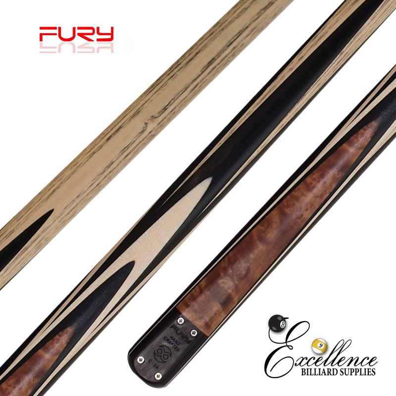 "FURY (C-3B) 57""2-PC(3/4)ASH SNOOKER CUE"