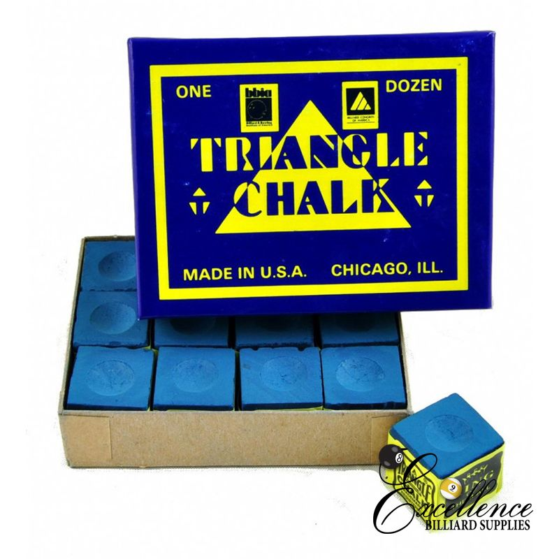 Triangle Chalk Dozen (12pc/box) - Assorted colours