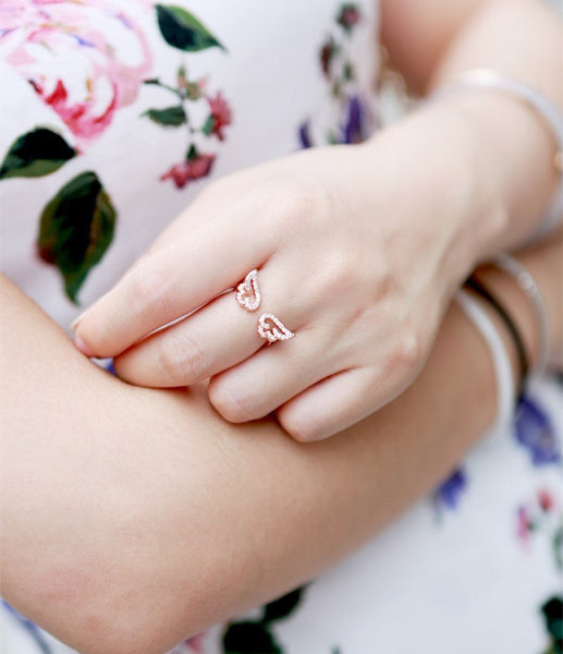 Angel Wings Ring - Available in 3 Colors