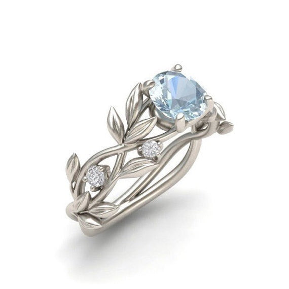 Crystal Vine Engagement, Wedding or Casual Ring Available in 4 Colors!
