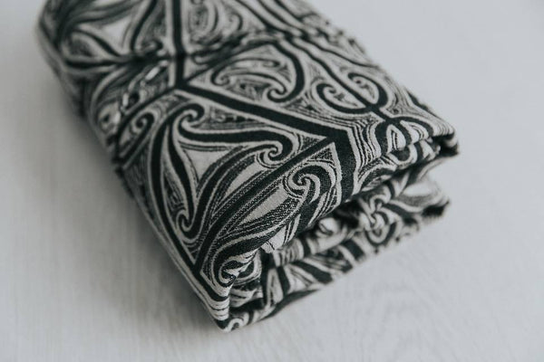 Aroha Mutunga Kore 'Mamaku' - ring sling conversion - baby-wearing ring slings designed with love in Aotearoa - Aroha Textiles