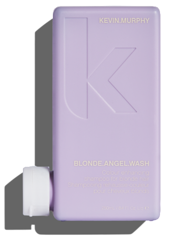 KEVIN MURPHY BLONDE ANGEL WASH 250ML Refresh Blonde tones with this luscious Lavender infused, colour enhancing shampoo.