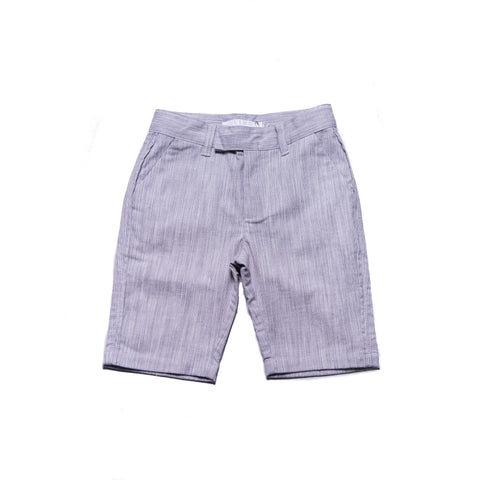 Jones Shorts (Grey Gingham Weave)