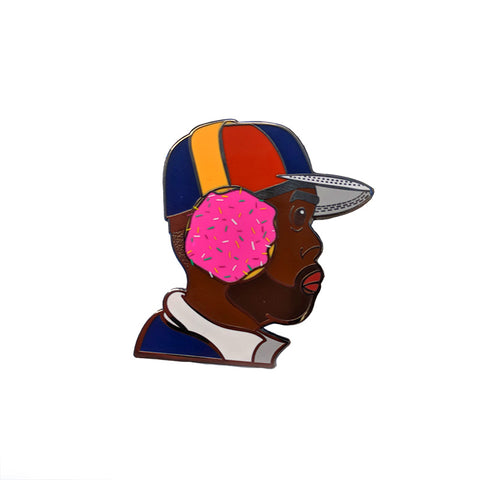 Dilla Donuts Pin, Pin, peabe, peabe - peabe