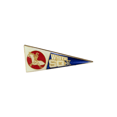 Vintage Chicago White Sox Pennant Pin, Vintage Pin, peabe, peabe - peabe