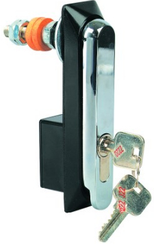 KEY OPERATED SWING HANDLE. DIE CAST, 20.5MM