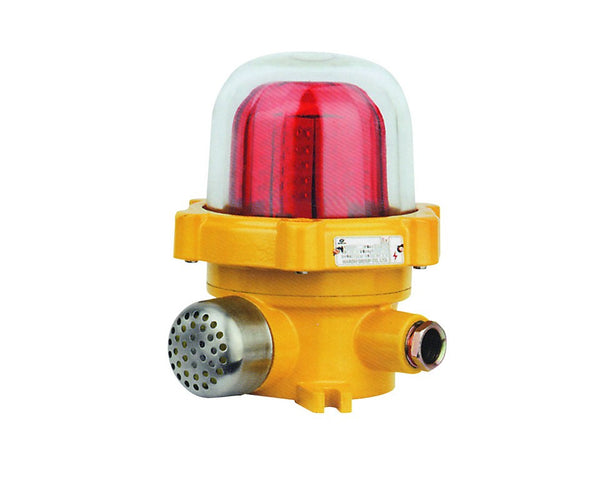 110VAC EX. PROOF LED BEACON/SOUNDER RED IP65