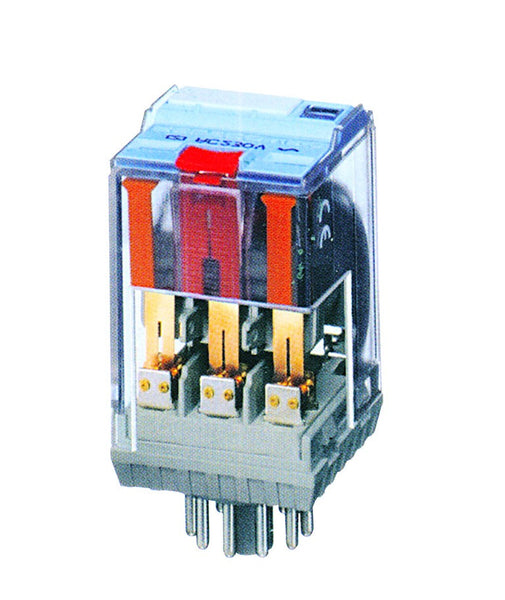 RELCO 11 PIN PLUG IN RELAY WITH FLAG IND.