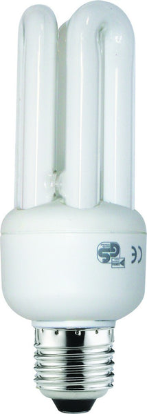 CF LAMP 3U WARM WHITE 230V 15W E27