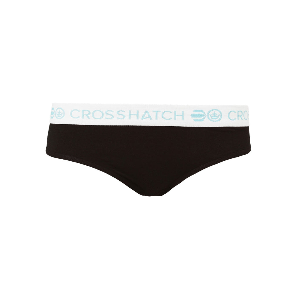 Ladies Beauty Briefs 5Pk - Black Assorted Underwear