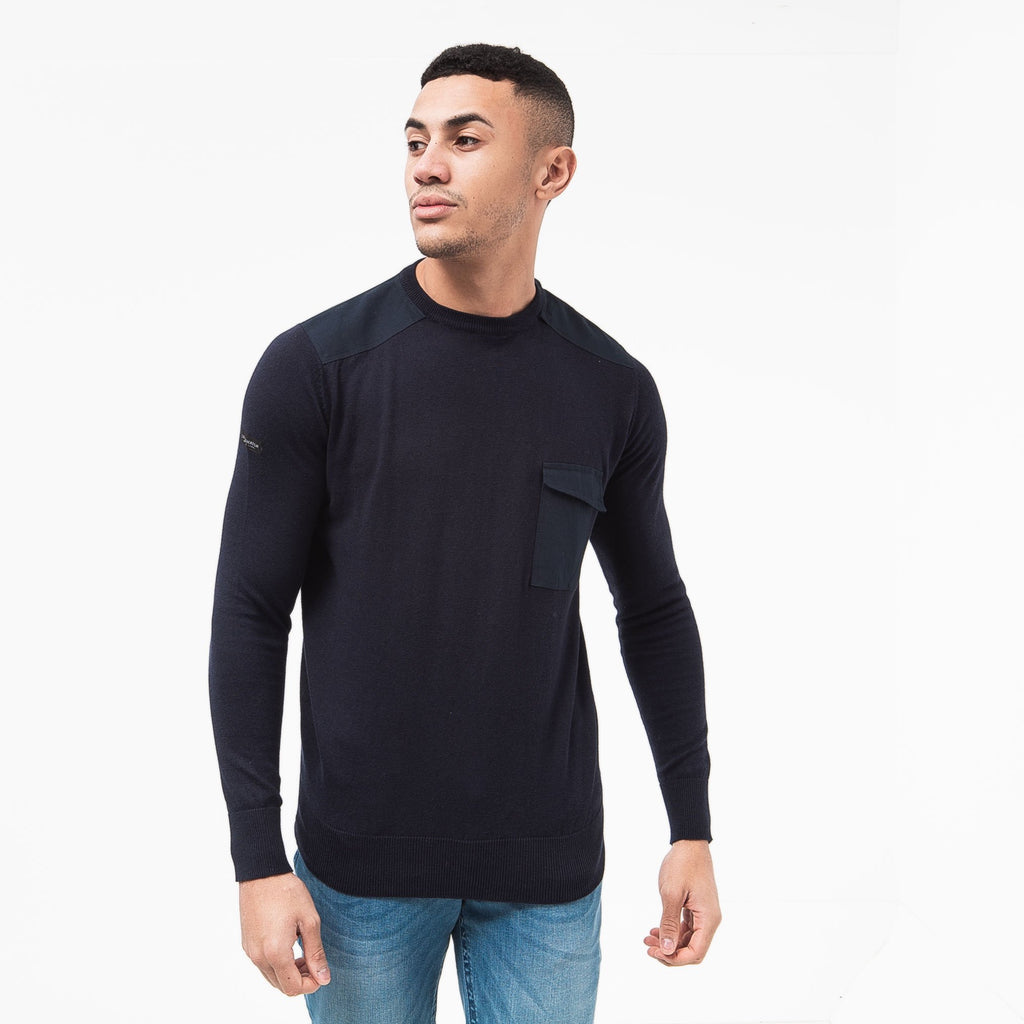 Plankford Knit S / Night Sky Knitwear