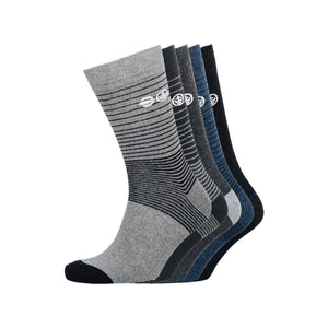 Barnby Socks 5Pk - Black/grey Underwear