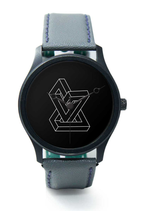 Wrist Watches India |Optical Illusion Line Art Premium Men Wrist WatchOnline India.