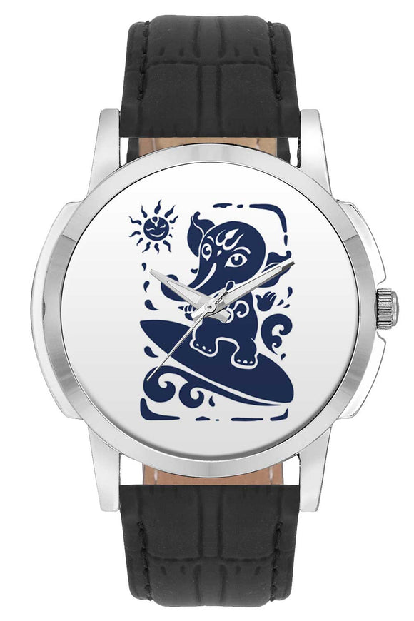 Wrist Watches India | Cute Ganesha Illustration  Wrist Watch Online India.