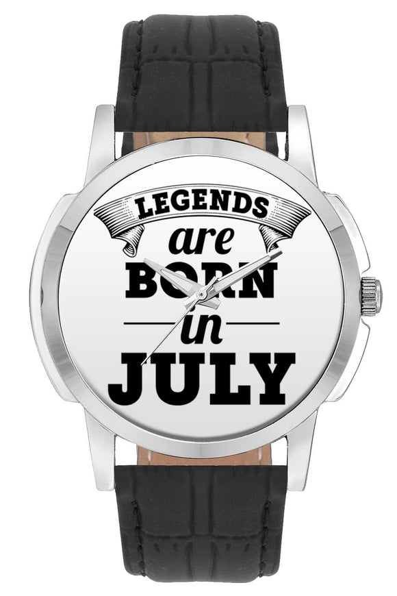 Wrist Watches India | Legends are Born In July Wrist Watch Online India.