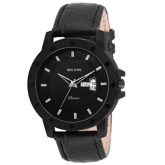 Premium Collection Black Dial Watch For Men