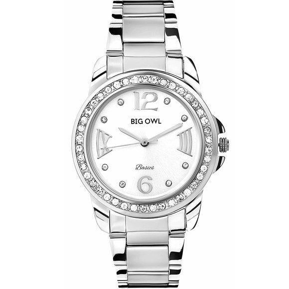 White Dial Analogue Women and Girls Wrist Watch