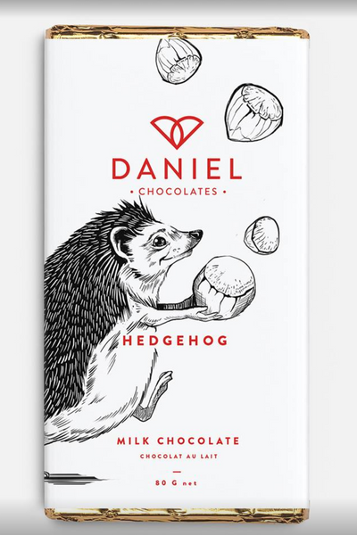 Daniels Chocolates- Milk Chocolate Hedgehog Bar