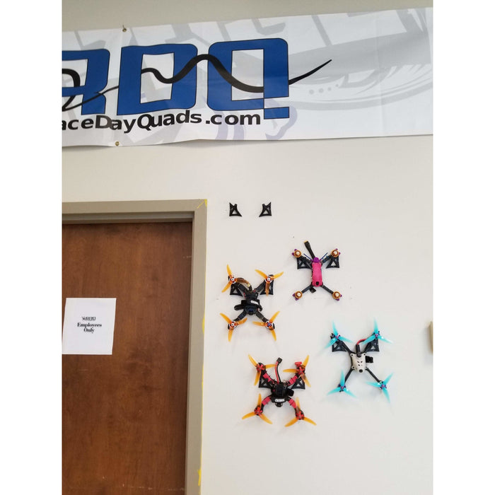 RDQ Quad Wall Mount - 3D Printed PLA - Choose Your Color