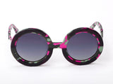Sobo Sunglasses Pink Camo Frame With Smoke Gradient Lens