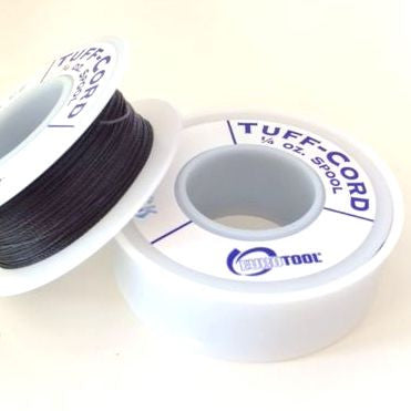 spool of tuff cord black