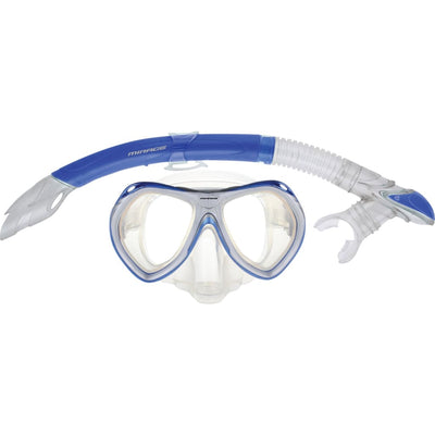 Crystal Mask/snorkel Junior Set Blue Masks / Snorkels / Fins