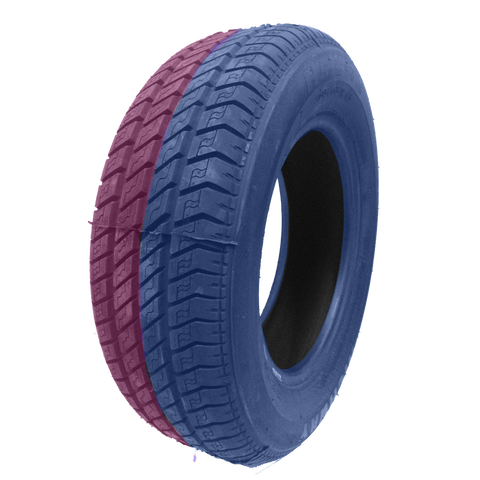 215/60R16 Highway Max - DUAL SMOKE Blue & Pink