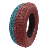 205/65R15 Highway Max - DUAL SMOKE Red & Teal