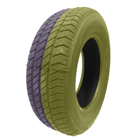 215/60R16 Highway Max - DUAL SMOKE Yellow & Purple