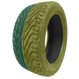 235/45R17 Highway Max - DUAL SMOKE Yellow & Green