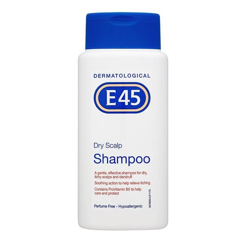 E45 Dry Scalp Shampoo for Dry, Itchy Scalps and Dandruff - 200ml