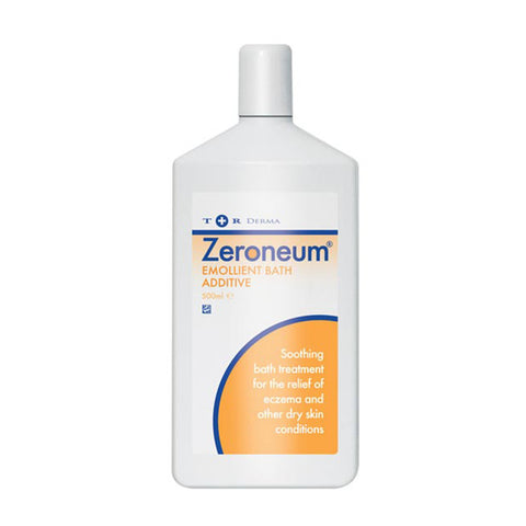 Zeroneum Emollient Bath Additive for Dry Skin - 500ml
