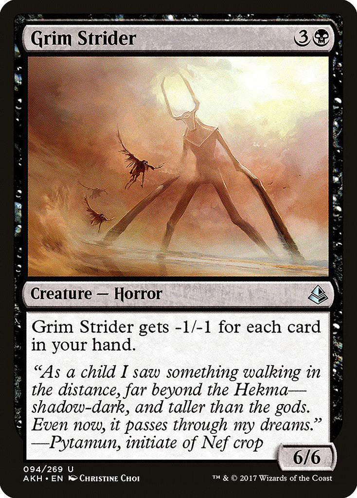 Amonkhet Grim Strider
