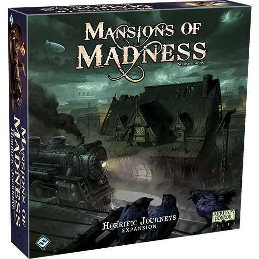 Mansions of Madness 2nd Edition Horrific Journeys