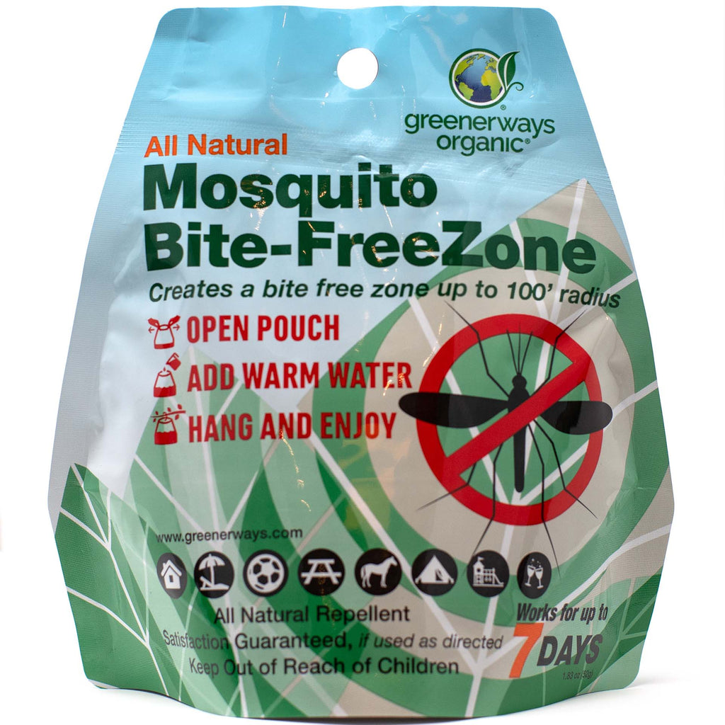 Greenerways Organic - All Natural Mosquito Bite-FreeZone - greenerways