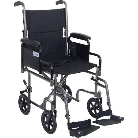 DRIVE STEEL TRANSPORT CHAIR