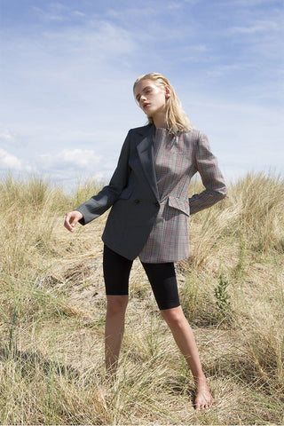 Unstructured DB Blazer-Herringbone