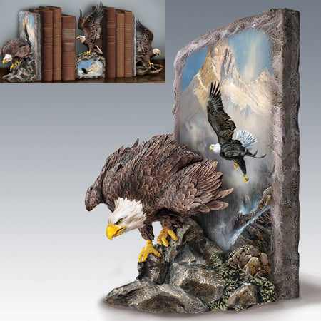 (B) BOOKENDS - Ted Blaylock's SOVEREIGN SKIES BOOKEND 0116912001-T SOLD OUT!