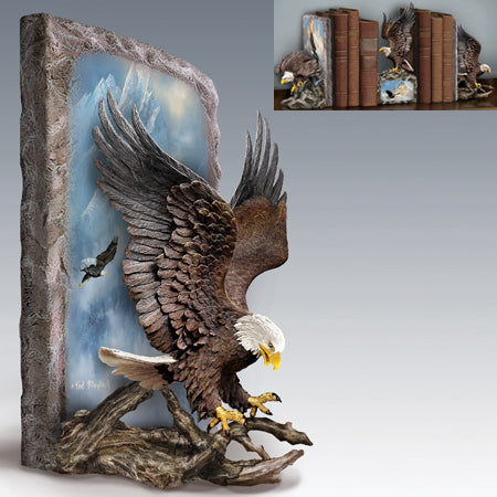 (B) BOOKENDS - Ted Blaylock's NATURE'S MAJESTY BOOKEND 0116912002-T