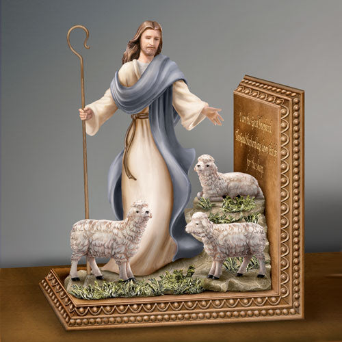 (B) BOOKENDS - *JESUS* THE GOOD SHEPHERD 0120202001-T