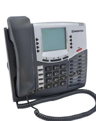 Inter-Tel Phone Inter-Tel 8560 (550.8560) Digital 6 Line LCD Display Phone Mitel Grade C