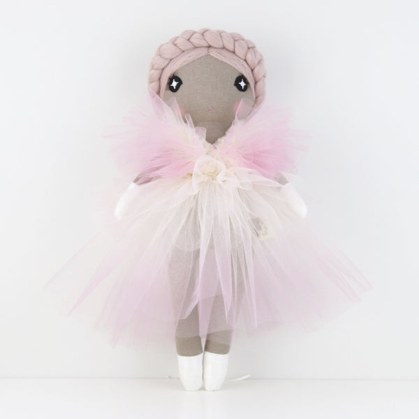 Design a doll Dip-Dye Tulle Dress