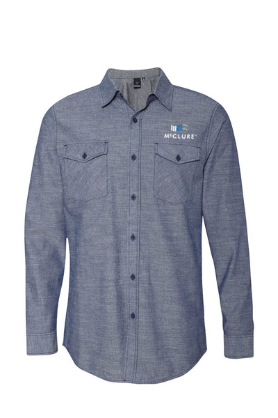 Burnside Chambray Long Sleeve Shirt #8255