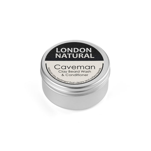 London Natural 'Caveman' Clay Beard Wash and Face Mask