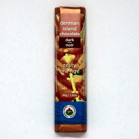 Denman Island Chocolate Zesty Orange