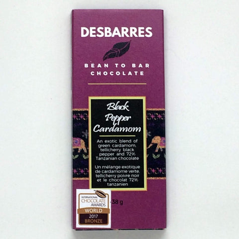 DesBarres Black Pepper Cardamom