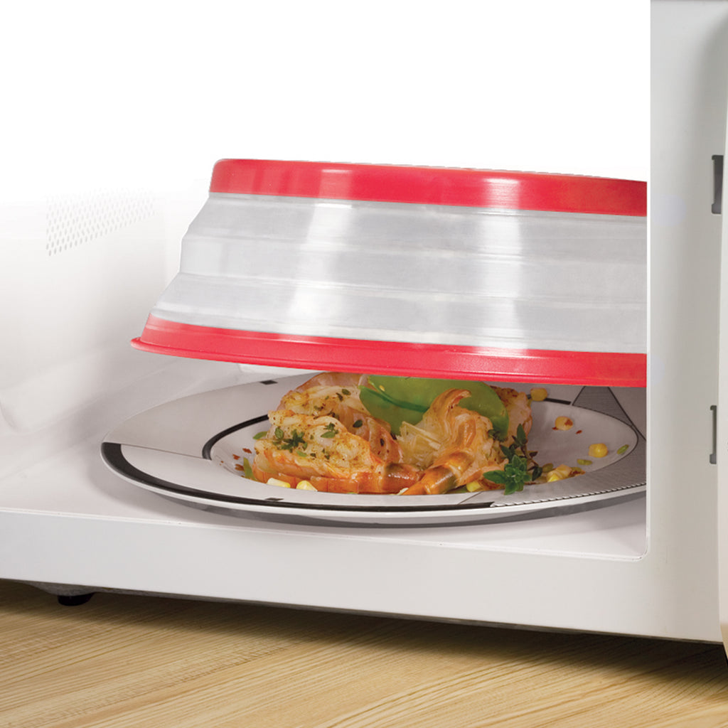 Collapsible Microwave Food Cover - Kitchenarysg-1
