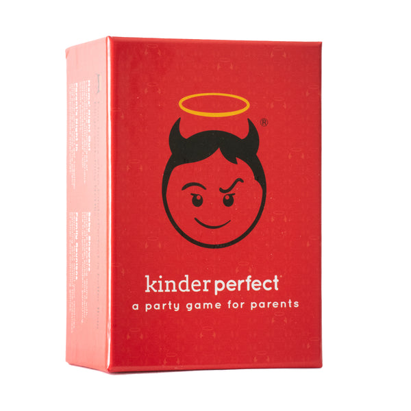 Kinder Perfect Party Cards for Adult Game Night Groups